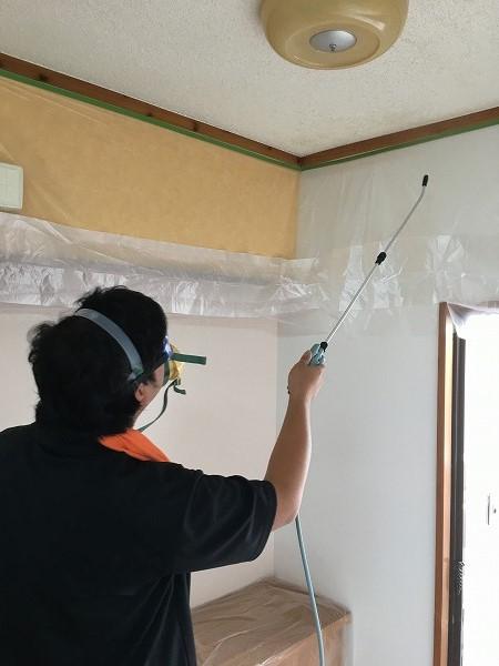 梅雨入り前にカビ退治、賃貸住宅の除カビ・防カビ施工に行ってまいりました!