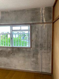 長い間悩みだったカビで黒くなった壁や天井が元に戻り大変喜んでいただきました。